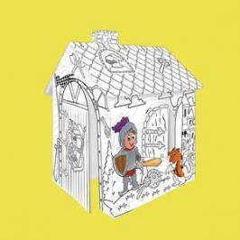 Mochtoys Картонный домик-раскраска