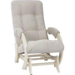Кресло-качалка глайдер Мебель Импэкс МИ Модель 68М дуб шампань, Verona Light Grey