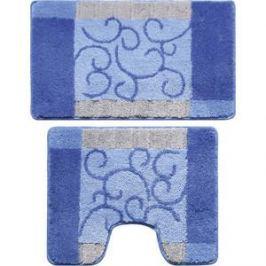 Набор ковриков для ванной Milardo Fine Lace 50x80 и 50x50 см (350PA68M13)