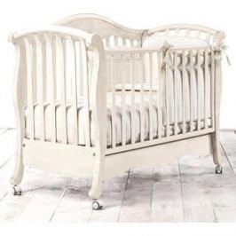 Кроватка Bambolina Divina 125х65 отбеленный