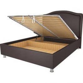 Кровать OrthoSleep Калифорния шоколад механизм и ящик 120х200