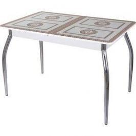 Стол со стеклом Домотека Гамма ПР (-1 БЛ ст-71 01)