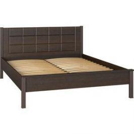 Кровать двуспальная Compass ИЗ-01 орех темный