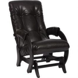 Кресло-качалка глайдер Мебель Импэкс МИ Модель 68 Real Lite DK Brown