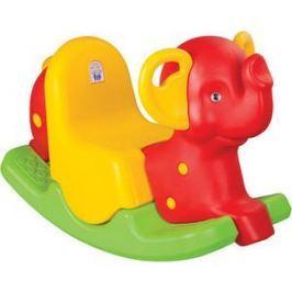 Качалка Pilsan Слон красно-зеленый (06-165)