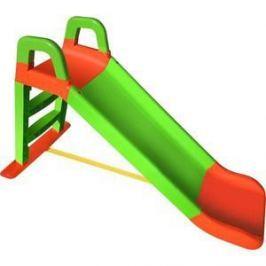 Горка DOLONI Весёлый спуск оранжевый/зеленый (0140/04)