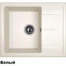 Мойка кухонная Dr.Gans Ника 580 белый (25.070.B0580.401)
