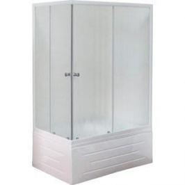 Душевой уголок Royal Bath 100*80*200 стекло шиншилла правый (RB8100BP-C-R)