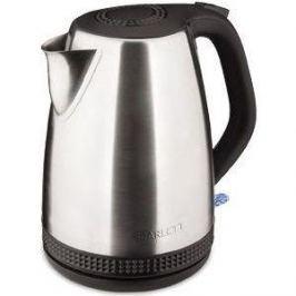 Чайник электрический Scarlett SC-EK21S46 серебристый/черный