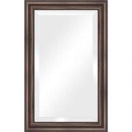 Зеркало с фацетом в багетной раме поворотное Evoform Exclusive 51x81 см, палисандр 62 мм (BY 1134)