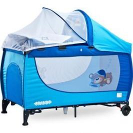 Манеж-кровать Caretero Grande blue синий (TERO-35)