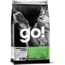 Сухой корм GO! Cat SENSITIVITY+SHINE GF Trout+Salmon Recipe с форелью и лососем для котят и кошек с чувствительным пищеварением 7,26кг (20037)