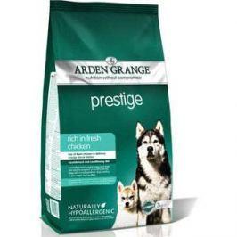 Сухой корм ARDEN GRANGE Adult Dog Prestige Hypoallergenic Rich in Fresh Chicken гипоалергенный с курицей для взрослых собак 15кг (AG610162)