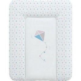 Матрац пеленальный Ceba Baby 70*50 см мягкий на комод Kite blue-pink W-143-070-023 (Э0000017848)