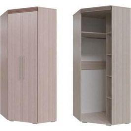 Шкаф угловой 2х дверный Гранд Кволити Азалия 4-4808 ясень шимо светлый/ясень темный