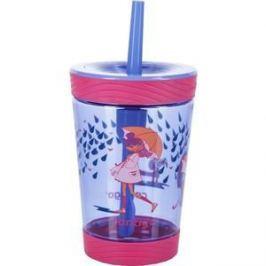 Детский стакан для воды с трубочкой 0.42 л Contigo contigo0771 розовый