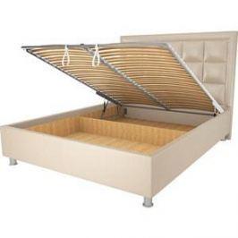 Кровать OrthoSleep Альба бисквит механизм и ящик 90х200
