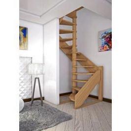 Лестница деревянная ЛЕСЕНКА ЛЕС-1,2 винтовая универсальная