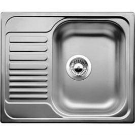 Мойка кухонная Blanco Tipo 45 s mini нерж сталь декор (516525) + сифон