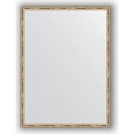 Зеркало в багетной раме поворотное Evoform Definite 57x77 см, серебряный бамбук 24 мм (BY 0642)