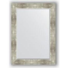 Зеркало с фацетом в багетной раме поворотное Evoform Exclusive 76x106 см, алюминий 90 мм (BY 1200)