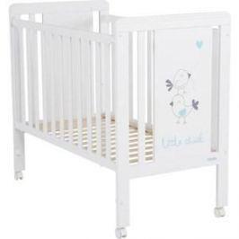 Кровать Micuna Little Chick 120*60 white/aquamarine