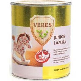 Антисептик для дерева VERES JUNIOR LAZURA №18 серо-коричневый 0.75л.