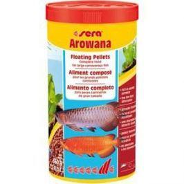 Корм SERA AROWANA Floating Pellets Complete Food for Larger Carnivorous Fish плавающие палочки для плотоядных рыб 1л (360г)
