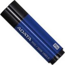 Флеш-диск A-Data 32Gb S102 Pro Синий алюминий (Read 600X) (AS102P-32G-RBL)