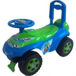 Машинка для катания DOLONI Автошка без музыки голубой/зеленый (0119/06)