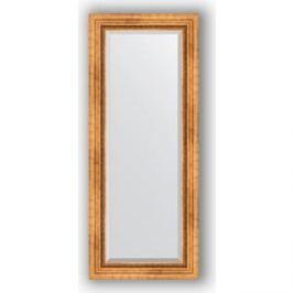 Зеркало с фацетом в багетной раме поворотное Evoform Exclusive 56x136 см, римское золото 88 мм (BY 3516)