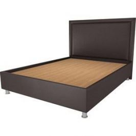 Кровать OrthoSleep Нью-Йорк шоколад жесткое основание 80х200