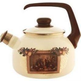 Чайник эмалированный со свистком 2.5 л Metrot Таково Картина (127871)