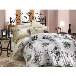 Комплект постельного белья Hobby home collection Евро, поплин, Carmen, бежевый (1501000081)