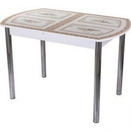 Стол со стеклом Домотека Гамма ПО (БЛ ст-72 02)