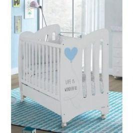 Кровать Micuna Wonderful 120*60 white/blue (Э0000015071)