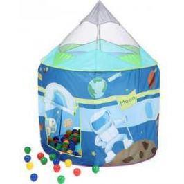 Игровой домик Bony Ракета с шариками (100 шаров) LI517