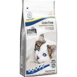 Сухой корм BOZITA Feline Funktion Grain Free Single Protein Chicken беззерновой с курицей для взрослых и растущих кошек 10кг (30730)