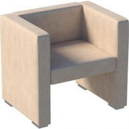 Кресло Мебелик Бриф экокожа бежевый.