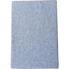 Простыня Arloni на резинке 160х200 см (ЛСПР-160/4 серый меланж)