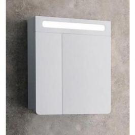 Шкаф-зеркало Edelform Гласс 60, белый (1-622-30-E80)
