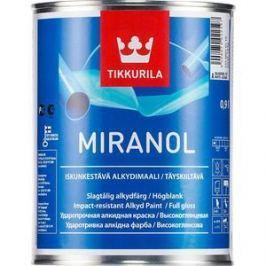Эмаль TIKKURILA Miranol ( Миранол) тиксотропный база А 0.9л.