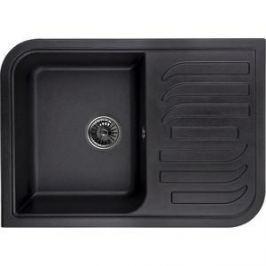 Мойка кухонная Granula 69,5х49,5 см черный (GR-7001 черный)