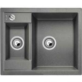 Мойка кухонная Blanco Metra 6 алюметаллик с клапаном-автоматом (516156)