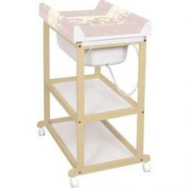 Пеленальный стол Ceba Baby Laura beech матрасик Ducklings brown W-650-050-230 (Э0000016421)