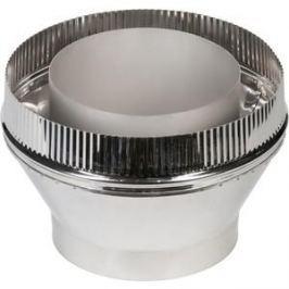 Переходник Феникс труба/сэндвич диаметр 150/250 мм сталь AISI 430 (1.0 нерж.мат./0.5 нерж.зерк.)(00821)