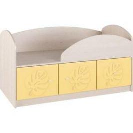 Кровать Compass МДМ-1К Желтый