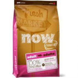 Сухой корм NOW FRESH Cat Adult Grain Free Turkey, Salmon & Duck беззерновой с индейкой, лососем, уткой и овощами для кошек 7,26кг (20044)