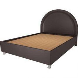 Кровать OrthoSleep Аляска шоколад жесткое основание 180х200
