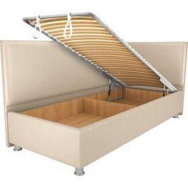 Кровать OrthoSleep Бибионе Лайт механизм и ящик Сонтекс Беж 140х200